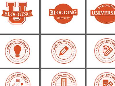 Blogging U. Concepts daily post wordpress.com badge seal
