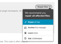 Repair all files