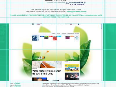 [WIP] Onepage provisional portfolio onepage provisional portfolio art director webdesigner webdesign digital book jonathan dury dmnsia hire available freelance freelancer