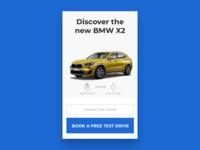 BMW X1 3D Ad