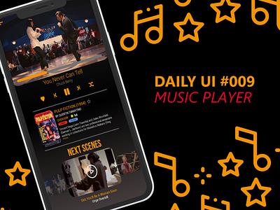 Daily UI #009   Music Player music player music dailyui ui ux app