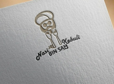nasi kebuli logo logo illustration vector design icon branding