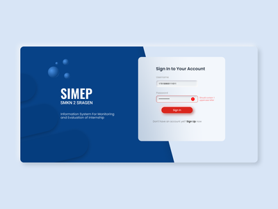 Sign in form learn login form sign in web ui login page