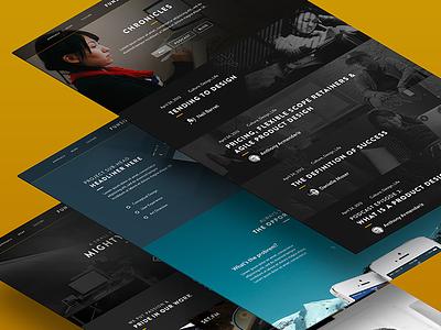 Funsize 3.0 - Chronicles rwd design web mockup fnsz webdesign