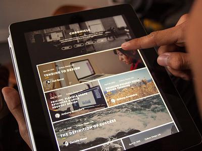 Funsize 3.0 - Chronicle V2 fnsz tablet rwd responsive portfolio website design