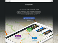 HomeStory - Landing Page