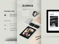 Daemaine Hines - Branding & Collateral