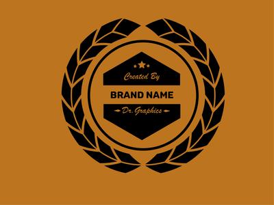 Wreath Logo vector logo illustration design branding