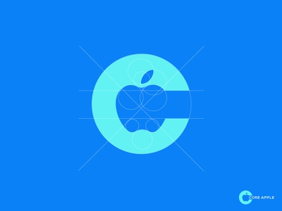 CORE APPLE LOGO (c logo) logotype website logo agency modern logo minimalist logo concept logo mark creative graphic design app design logo minimal custom logo icon c monogram c letter logo c app icon c mark c logo