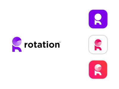 Rotation logo (R mark) logo designer logo design best logo colourful logo modern logo agency logo business logo rotation logo r mark indentity custom logo design app design latter logo icon logo logo mark branding