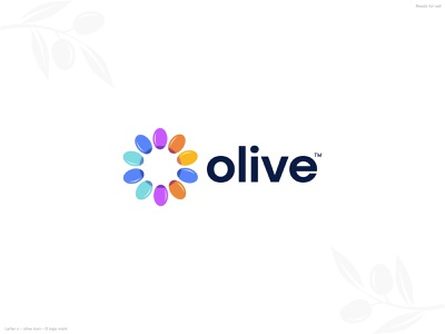 Olive logo design identity colour modern logo vector food logo business logo creative l a z y o mark o logo t h e q u i c k b r o w n f o x j u m p e d o v e r s latter logo icon logo mark logo branding logo design olive logo olive