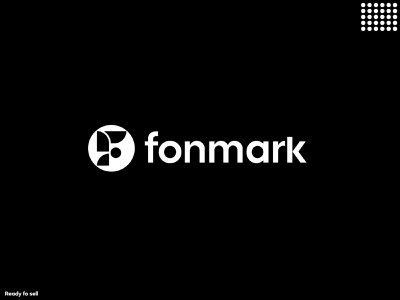 fonmark logo logo design symbol identity monogram typography ui illustration design app design custom logo latter logo icon logo mark branding logo