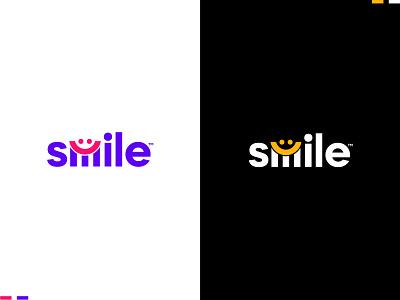 smile wordmark logo design brand ientity logo designer logo design typography minimalist logo business logo lettermark wordmark logo ui illustration design app design custom logo icon latter logo logo mark branding logo
