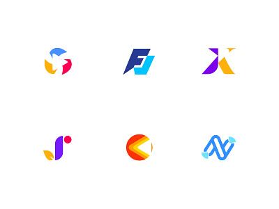 2021 best logo collection release logos brand monogram custom logo design icon identity branding symbol minimal logomark vector logo