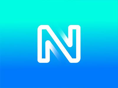 N n logo symbol logos design illustration identity icon logo mark branding logo