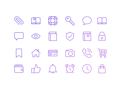 Weekly Free Icon Set