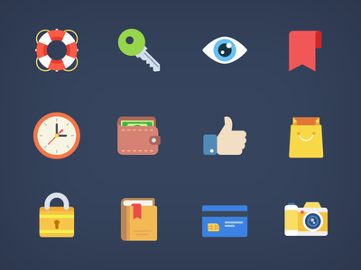 Weekly Free Flat Icons webdesign free icons app website ui freebie flat icons icon free