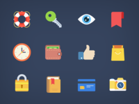 Weekly Free Flat Icons