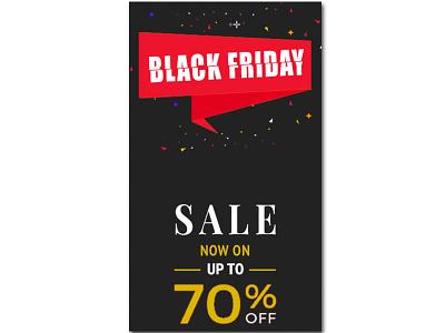 Black Friday Sale Banner Illustration web website ux vector ui illustrator illustration graphic design design branding