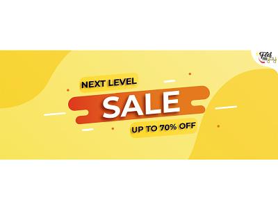Sale Banner Illustration web ui ux website vector illustration illustrator graphic design design branding