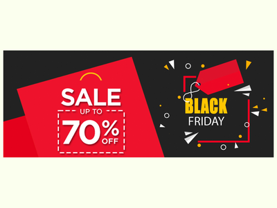 Black Friday Sale Banner logo website vector ui ux illustrator illustration design graphic design branding