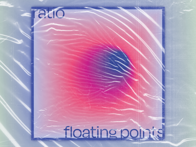 Floating Points Album Art typography music cover house music album cover design album artwork album cover album art illustrator flat design cover art art