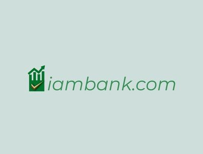 iambank 02 icon illustration illustrator vector branding logo design logodesign logo graphic design