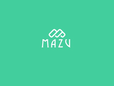 mazu 03 typography icon branding illustrator logo design logodesign logo illustration graphic design