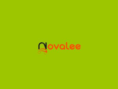 Novalee 01 typography graphic vector illustrator design branding illustration logo design logodesign logo