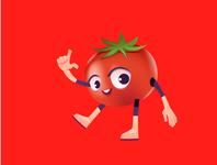 tomato character design landing page design ux design ui design ux minimal web icon vector illustration logo logodesign branding logo design design