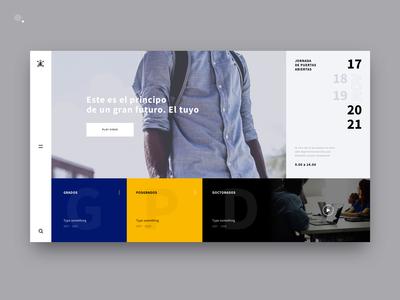 Comillas University New Web Design