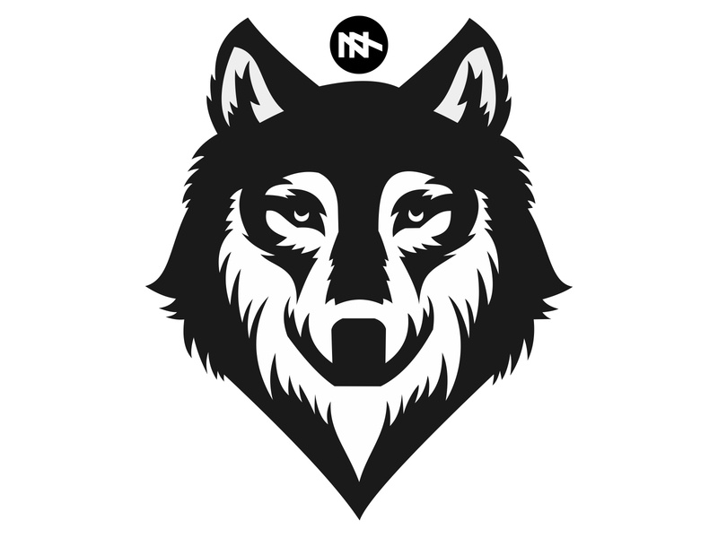 Wolf best icon vector logo logo design flat illustration design branding wolf logo