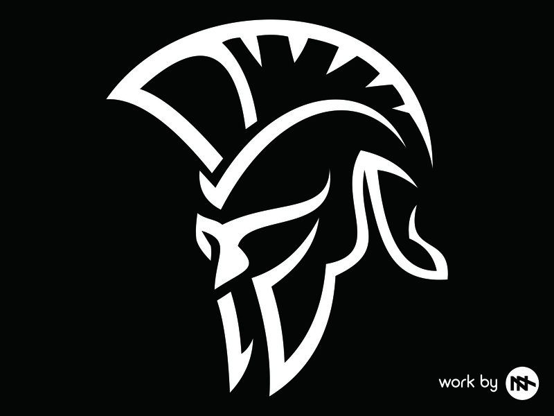 Sparta inspiration best icon illustration vector logo design logo design flat branding spartan logo