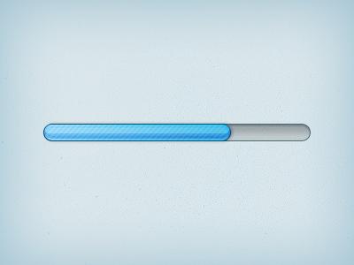 Progress Bar (PSD) progress whirl download file add psd free