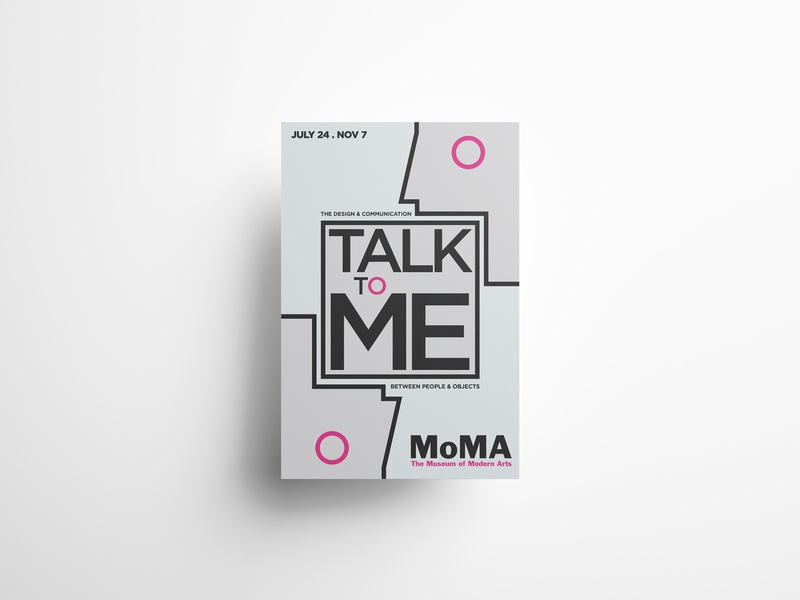 Talk to Me Poster | MoMA