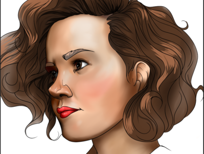 Portrait 1 illustrator digital art clip studio paint digital illustration illustration portrait illustration portrait art portrait