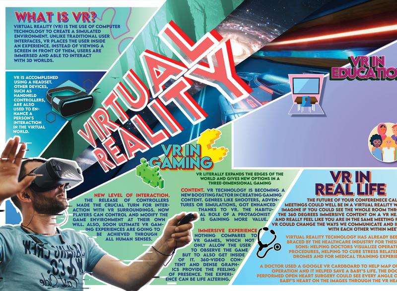 VR infographic information infographics graphic graphic design design adobe adobe illustrator adobe photoshop infographic