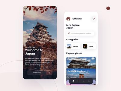 Travel Mobile App travel app mobile app ux design ui design mobile ui mobile app design graphic design design ux ui