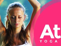 Yoga Training Website main page design