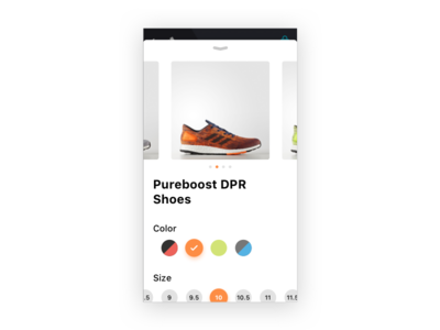 Daily UI 033 — Customize Product