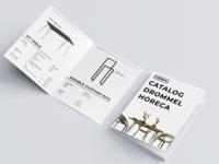Drommel Catalog layout design layout minimal minimalist catalog theme brand catalog digital catalog graphic design furniture catalog catalog design