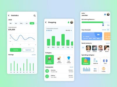 Wallet App money app app design wallet app icon ui ux branding design