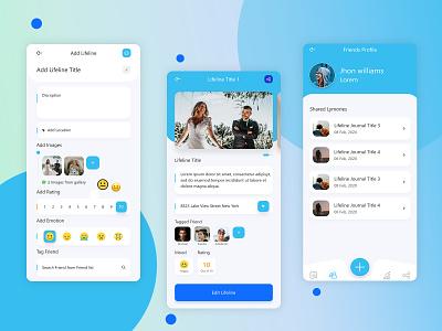 Lifeline - Events Creation App event eventsapp events ui ux design app design app