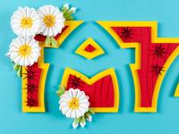 Arizona - Paper State Flower series