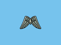 Fortnite Backpack Bling: Love Wings wallpaper