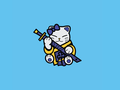 Fortnite Backpack Bling: Shiro Cat pin backpack fortnite shiro cat