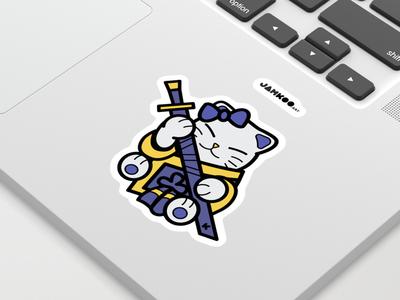 Hello Shiro Sticker fortnite shiro sticker