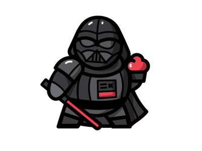 Vader's Cupcake