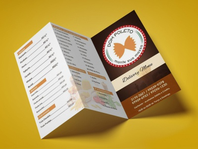 Folder - Menu menu restaurant menu restaurant folder design panfleto folder