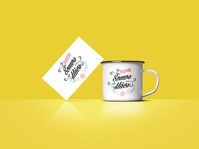 Somos mães - Logo for Blog identity branding design typography mock illustration logo branding dailyui